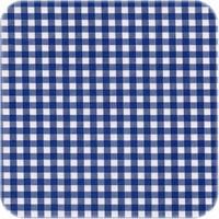 Mexicaans Tafelzeil 3m bij 1,20m Ruitje donkerblauw