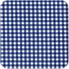 MixMamas Mexicaans Tafelzeil vierkant 1,20m bij 1,20m Ruitje donkerblauw