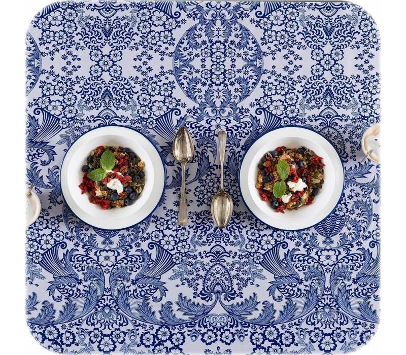 Mexicaans tafelzeil 2m bij 1.20m, Paraiso blauw