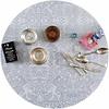 MixMamas Rond tafelzeil 120cm paraiso zilver