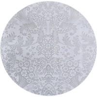 Mexicaans Tafelzeil Rond - Ø 120 cm - Paraïso / Barok - Zilver