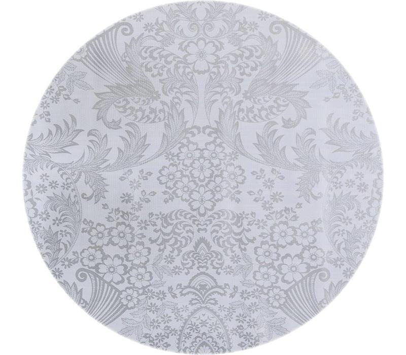 Tafelzeil Rond - Ø 120 cm - Paraiso / Barok - Zilver