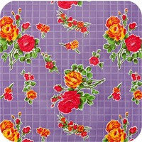 Mexicaans tafelzeil 2m bij 1.20m, Rosedal lila