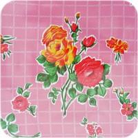 Mexicaans Tafelzeil 3m bij 1,20m Rosedal rose