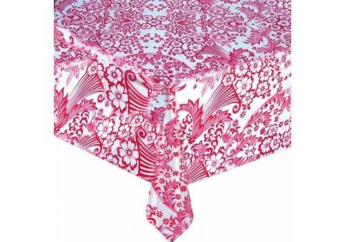 MixMamas Tafelzeil barok roze 2m paraiso fuchsia