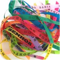 Bonfim lint - Set van 20 Bonfim Lintjes 43 cm - mix - Multicolor