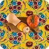 MixMamas Mexicaans Tafelzeil 3m bij 1,20m Floral, bloom geel
