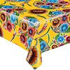 MixMamas Tafelzeil Bloom / Floral - 120 x 300 cm - Geel