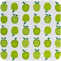 Mexicaans Tafelzeil 3m bij 1,20m Appels stippels lichtgroen