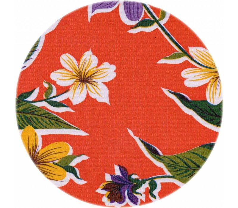 Rond tafelzeil 120cm Fortin oranje