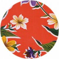 Tafelzeil Rond - Ø 120 cm - Fortin - Oranje