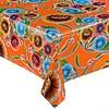 MixMamas Mexicaans Tafelzeil Gebloemd Floral - 120 x 300 cm - Oranje