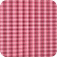 Tafelkleed Gecoat Ruitje - 140 x 200 cm - Rood