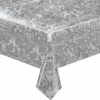 Mexciaans Tafelzeil 2,5m bij 1,20m Paraiso zilver
