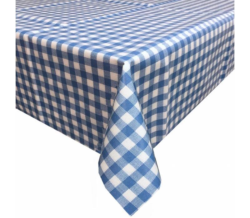 Europees Eco tafelzeil ruitje blauw 3M