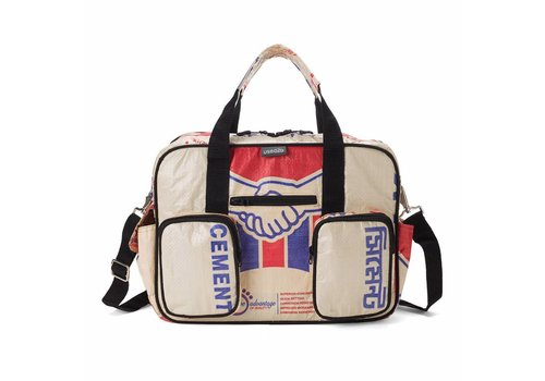 Used2b Used2b College bag Akij – Cement - 40 x 29 cm