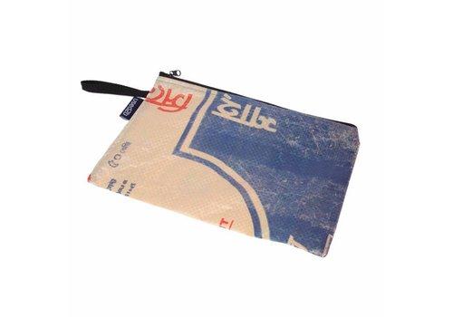 Used2b Documenten-etui XL blauw