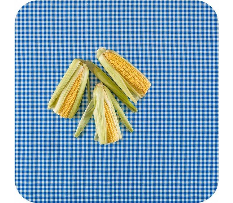 Mexicaans tafelzeil op rol 11m Ruit donkerblauw