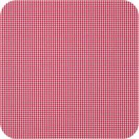 Gecoat tafelkleed Ruitje rood 2,5mx 140cm