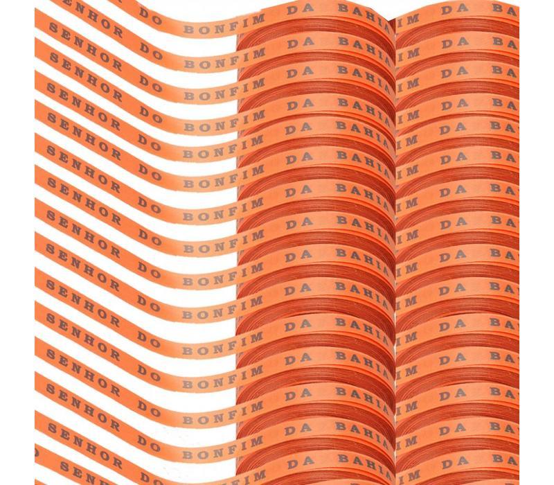 Bonfim rolletje oranje set 30 rollen 1290m