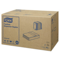 Tork - Navulling dispenser servet - 1-laags fastfold - 36 x 300 stuks - Wit