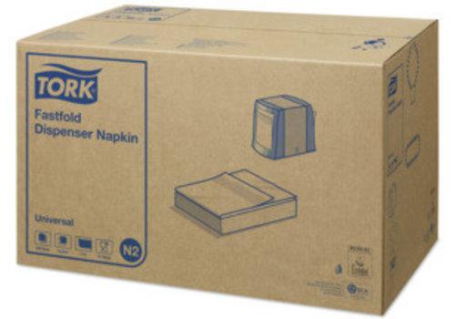 Tork Tork - Navulverpakking dispenserservet - doos -36 x 300 stuks - Wit