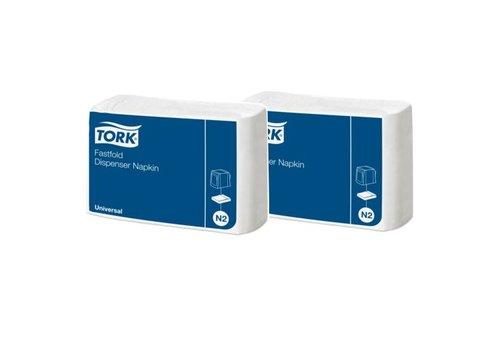 Tork Tork - Navulverpakking dispenserservet - 600 stuks - Wit