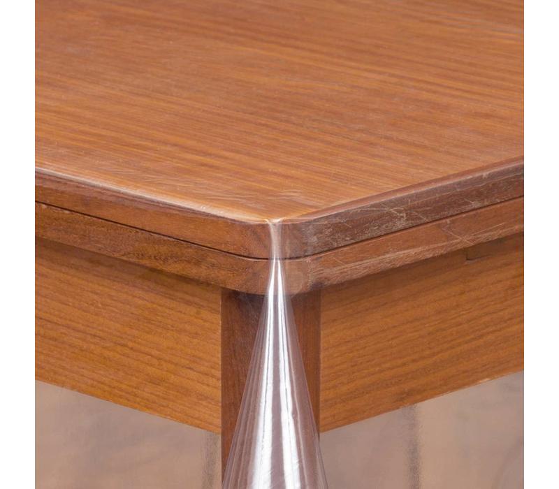Transparant tafelzeil 3m bij 140cm  op rol van 140cm