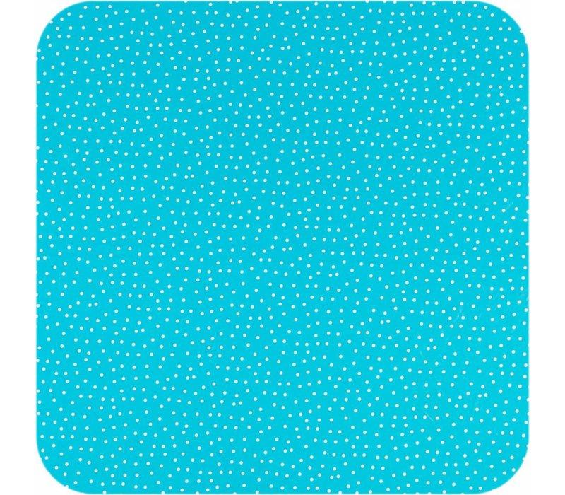 Europees Eco tafelzeil Rol 20m blauw-wit stipje 140cm