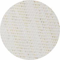 Rond Tafelkleed Gecoat Ø 180 cm Linnen - Crème/Goud
