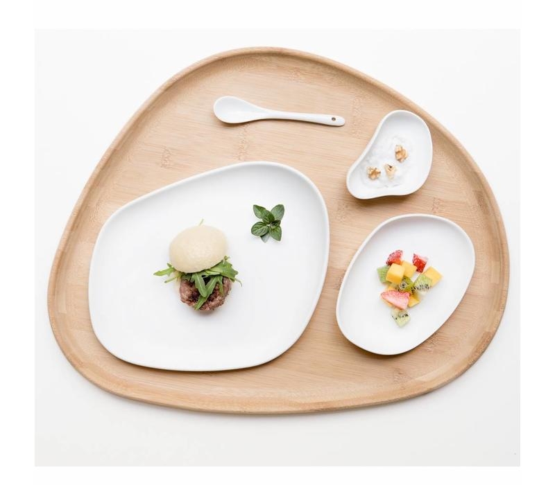 Cookplay Yayoi Dinerset - 4-delig - Porselein -Wit