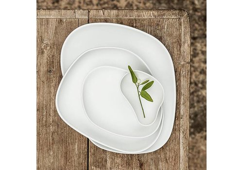 Cookplay Yayoi dinerset 4-delig mat wit