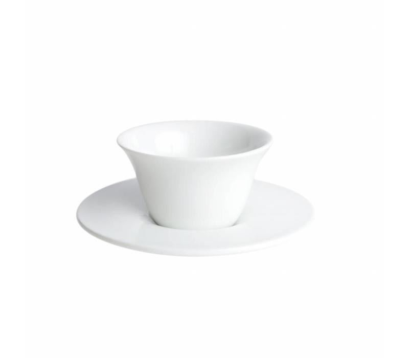 Cookplay Fly Koffieset - 2-delig - Porselein - 125 ml - Ø 8,5 cm - Wit