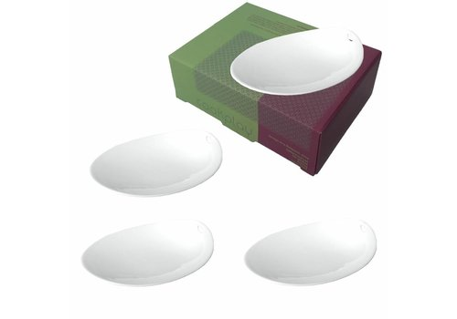 Cookplay Cookplay Jomon Small Schaaltjes - 4-delig - Porselein - 14 x 11 cm - Wit
