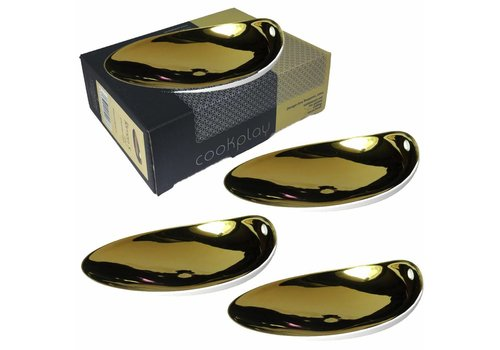 Cookplay Jomon Small Goud Schaaltjes-SET4