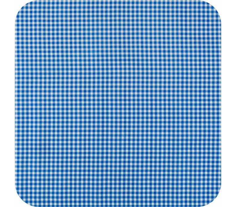 Mexicaans Tafelzeil Ruitje - 120 x 270 cm - blauw