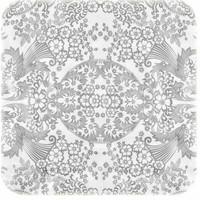 Tafelzeil Paraiso / Barok - 120 x 270 cm - Zilver