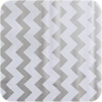 Mexciaans Tafelzeil 270 cm bij 1,20m zigzag zilver