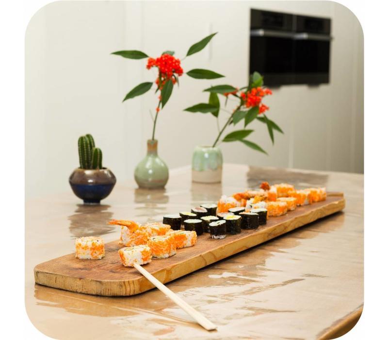 Transparant tafelzeil extra breed 180 cm op rol 20m