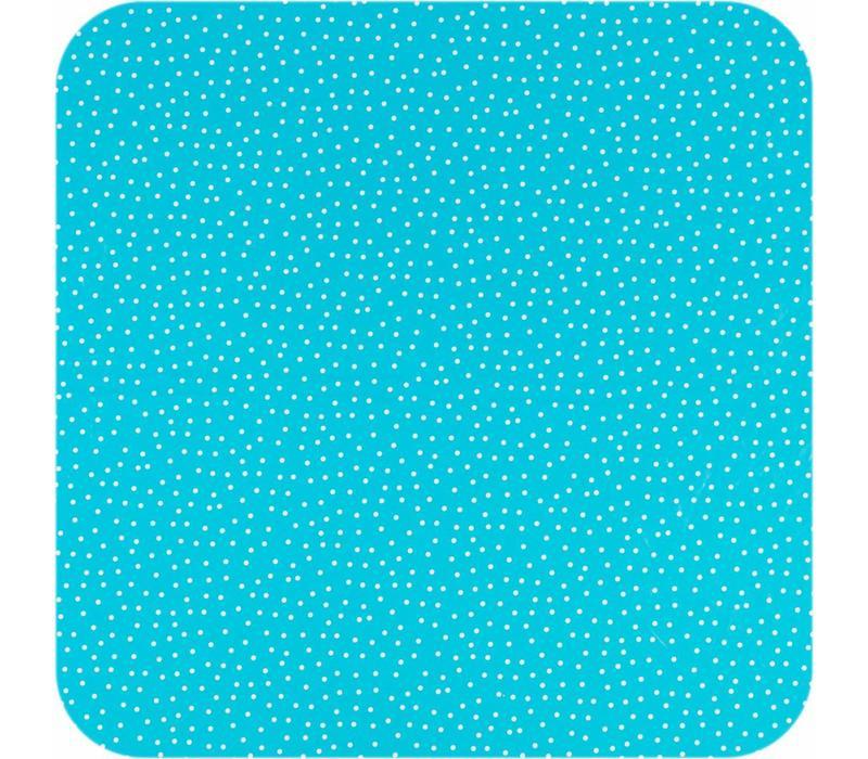 Tafelzeil Stipjes - 140 x 250 cm - Blauw/Wit