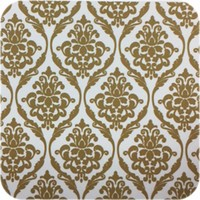Tafelzeil Barok - 140 cm x 250 cm - Goud