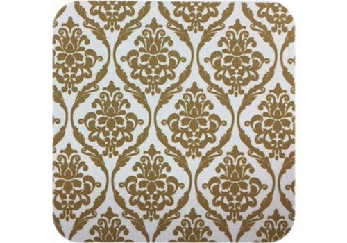 MixMamas Tafelzeil Barok - 140 cm x 250 cm - Goud