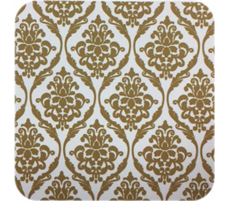 Europees Eco tafelzeil barok goud 2,5 m
