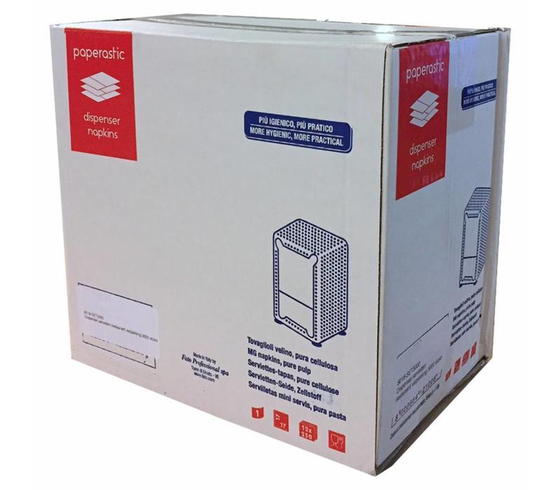 Dispenser Servetten - Navulling servethouder 3000 stuks - Wit