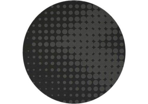 MixMamas Rond  Tafelkleed 160 cm Hippe stippen zwart