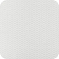 Tafelkleed Gecoat Stippen - 140 x 250 cm - ton-sur-ton - Wit