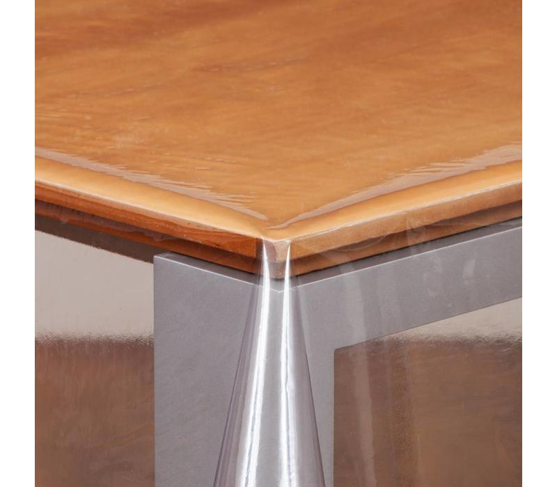 Transparant Tafelzeil Rond - Ø 140 cm - gevouwen op Rol