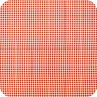 Tafelzeil Ruitje Vierkant - 120 x 120 cm - Oranje