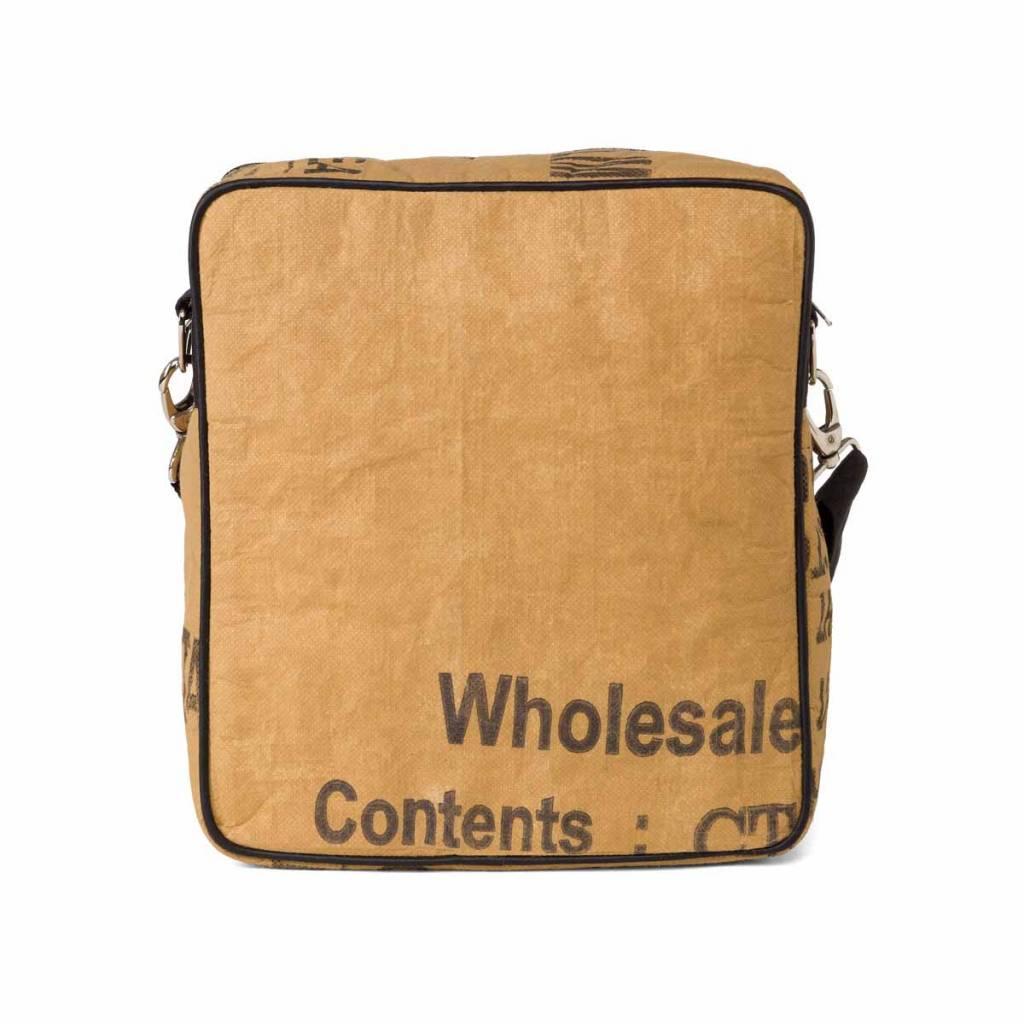 Used2b Messenger recycled big tea bags