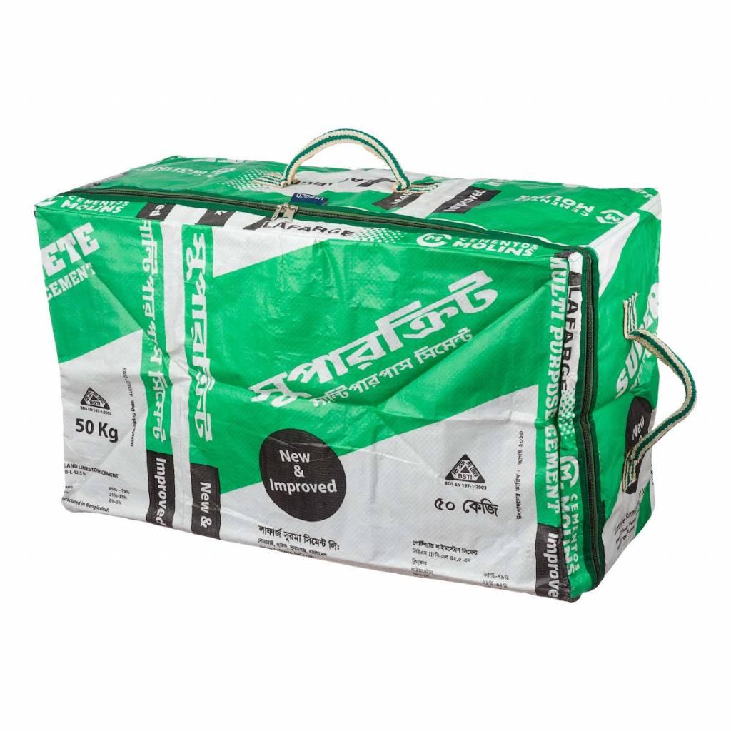 Used2b Cargo Cement groen